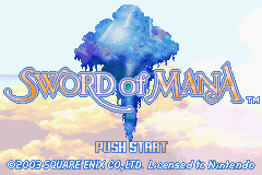 Sword Of Mana GBA Screenshot Screenshot 1