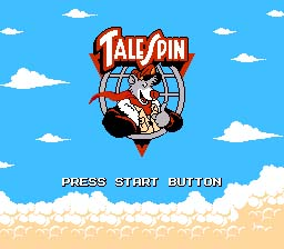 Tale Spin NES Screenshot Screenshot 1