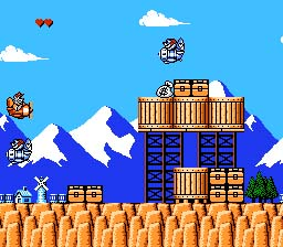 Tale Spin NES Screenshot Screenshot 2