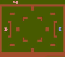 Tank Plus Atari 2600 Screenshot Screenshot 1