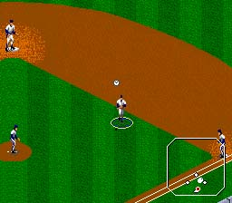 Tecmo Super Baseball Genesis Screenshot Screenshot 2