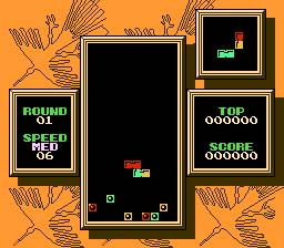 Tetris 2 NES Screenshot Screenshot 2