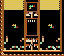 Tetris 2 NES Screenshot Screenshot 3