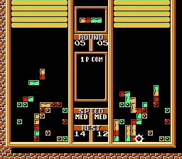 Tetris 2 NES Screenshot Screenshot 4