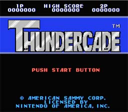 Thundercade NES Screenshot Screenshot 1