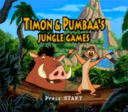 Timon and Pumbaa's Jungle Games SNES Screenshot Screenshot 1