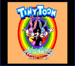 Tiny Toon Adventures: Buster's Hidden Treasure Sega Genesis Screenshot 1