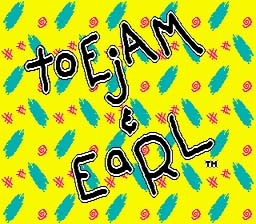 Toe Jam And Earl Genesis Screenshot Screenshot 1