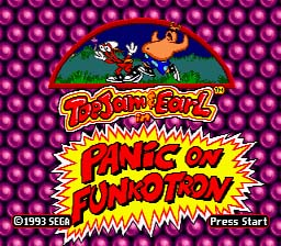 Toe Jam And Earl in Panic on Funkotron Genesis Screenshot Screenshot 1