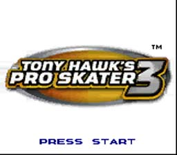 Tony Hawk's Pro Skater 3 Gameboy Color Screenshot 1