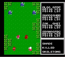 Ultima 3: Exodus NES Screenshot Screenshot 4