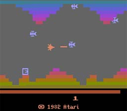Vanguard Atari 2600 Screenshot Screenshot 2