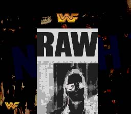WWF Raw Genesis Screenshot Screenshot 1