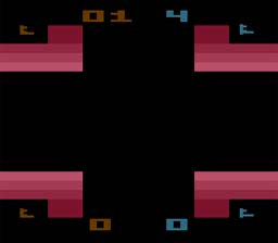 Warlords Atari 2600 Screenshot Screenshot 1