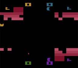 Warlords Atari 2600 Screenshot Screenshot 2