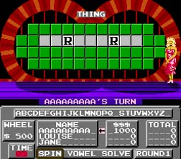 Wheel of Fortune screen shot 2 2
