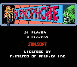 Xenophobe NES Screenshot Screenshot 1