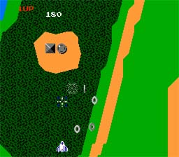 Xevious NES Screenshot Screenshot 2