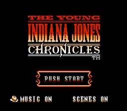 Young Indiana Jones Chronicles NES Screenshot 1