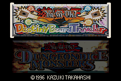Yu-Gi-Oh! Double Pack 2 GBA Screenshot Screenshot 1