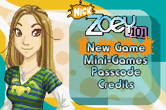 Zoey 101 GBA Screenshot Screenshot 1